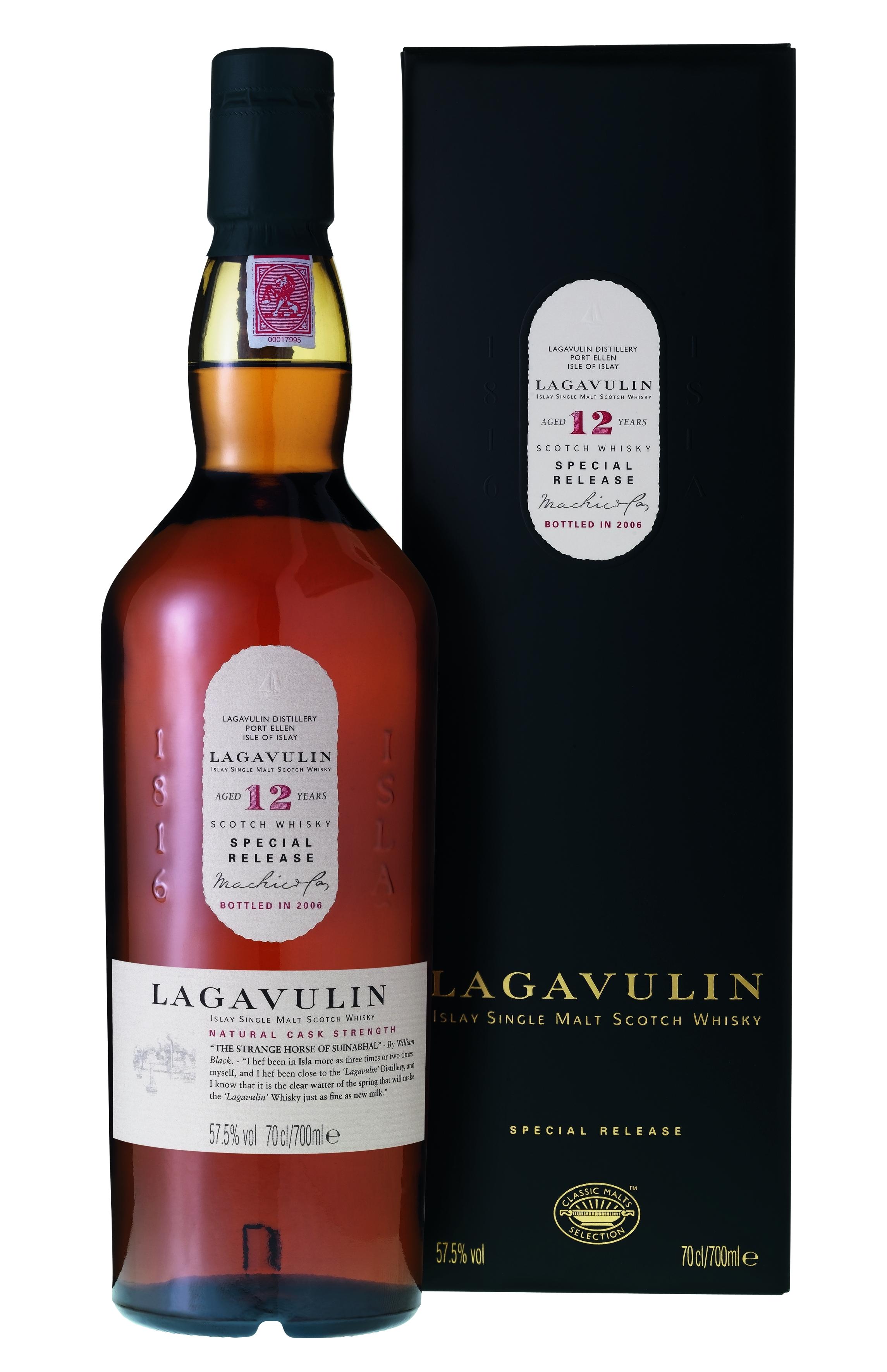Lagavulin 12 Jahre Cask Single Malt Whisky