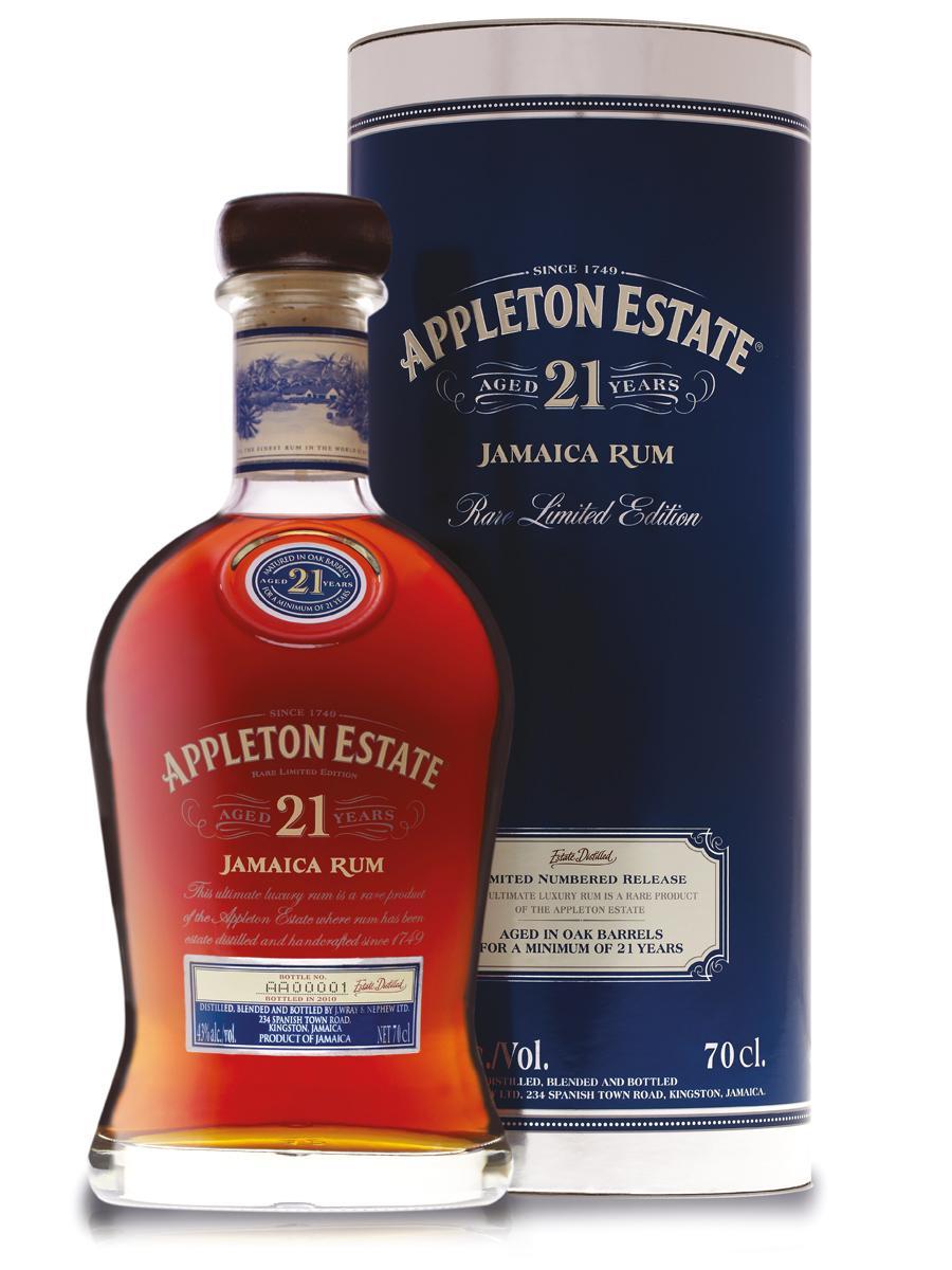 Appleton Estate Rum 21 Jahre