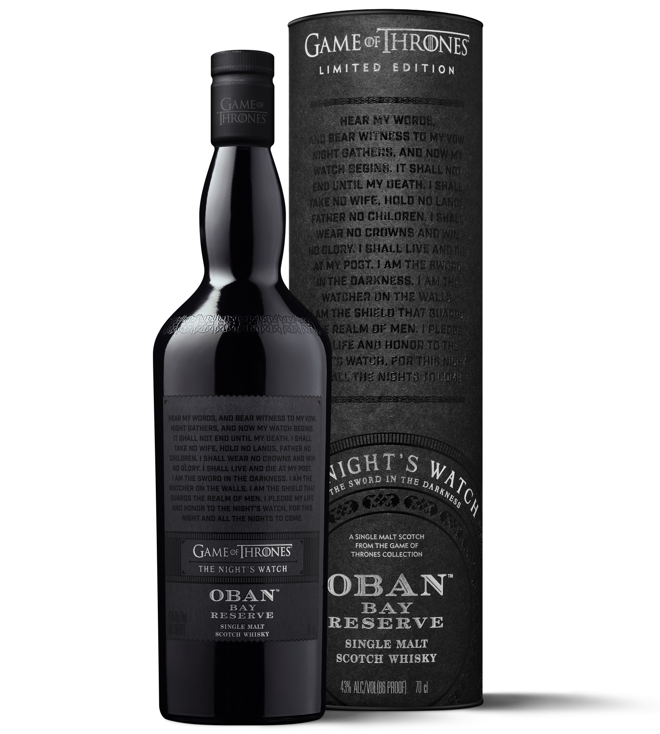 Oban Bay Reserve Games of Thrones Whisky