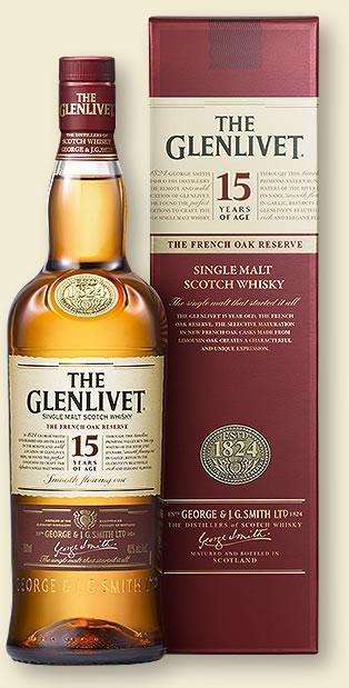 The Glenlivet 15 Jahre French Oak Whisky