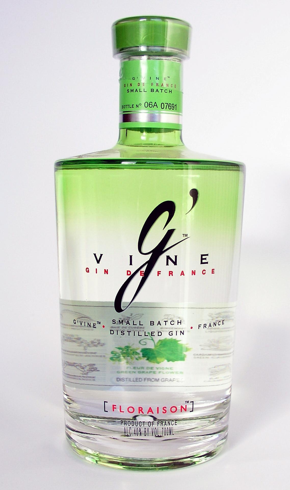 G Vine Gin Floraison