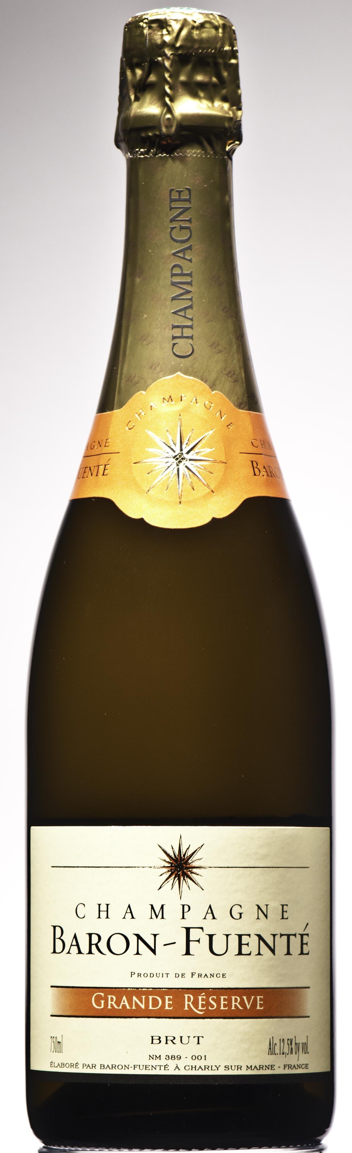 Champagner Baron Fuente Grande Reserve brut