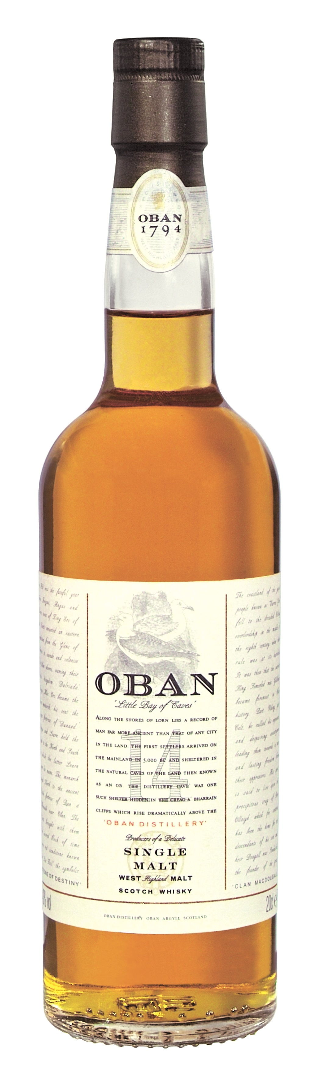 Oban 14 Jahre Whisky Kleinflasche
