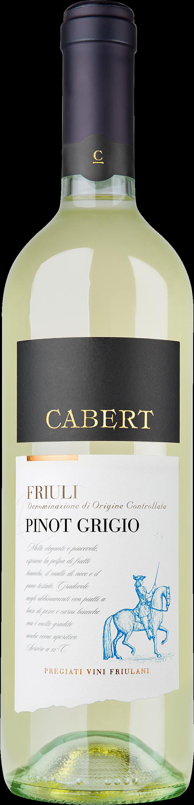 Bertiolo Pinot Grigio DOP Cabert