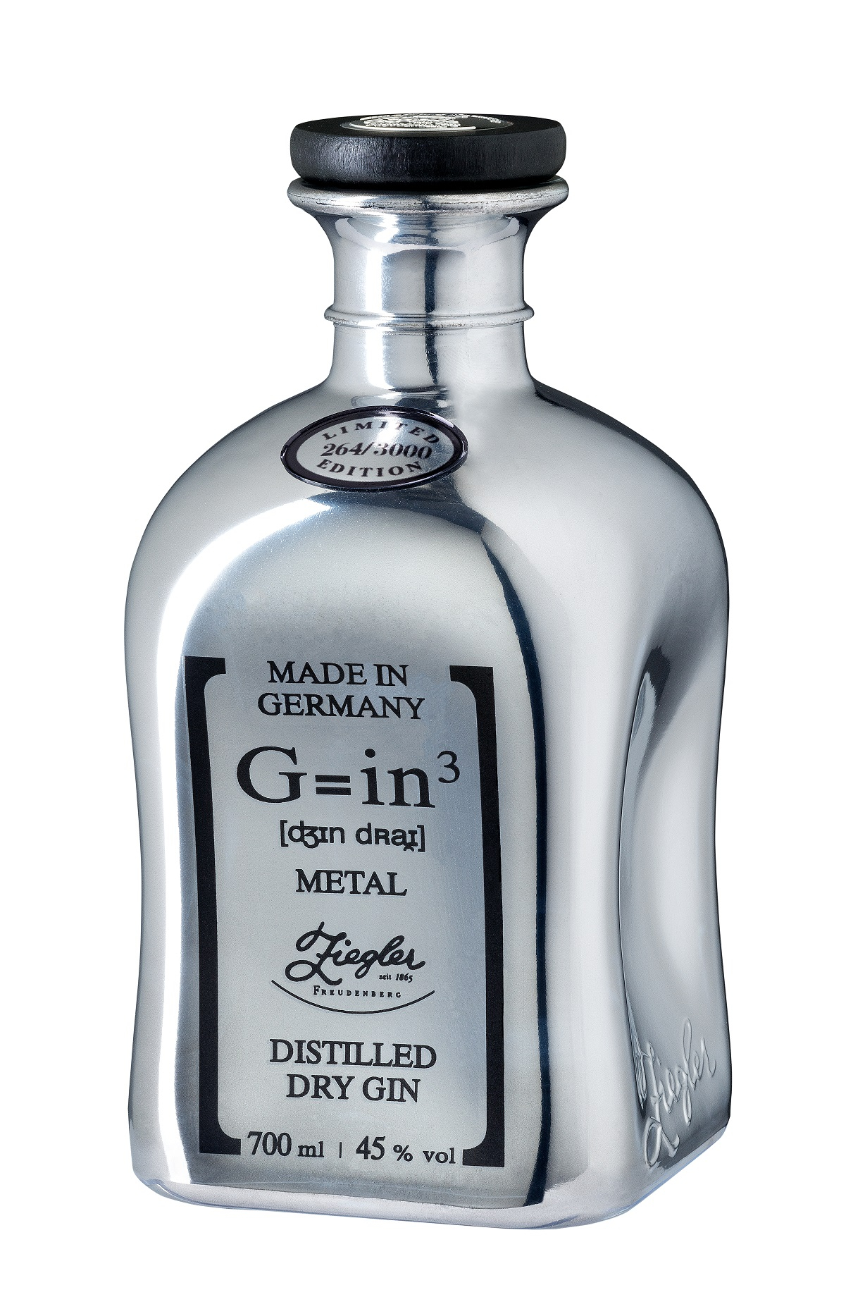 Ziegler Gin Classic G=in³ Metall Edition