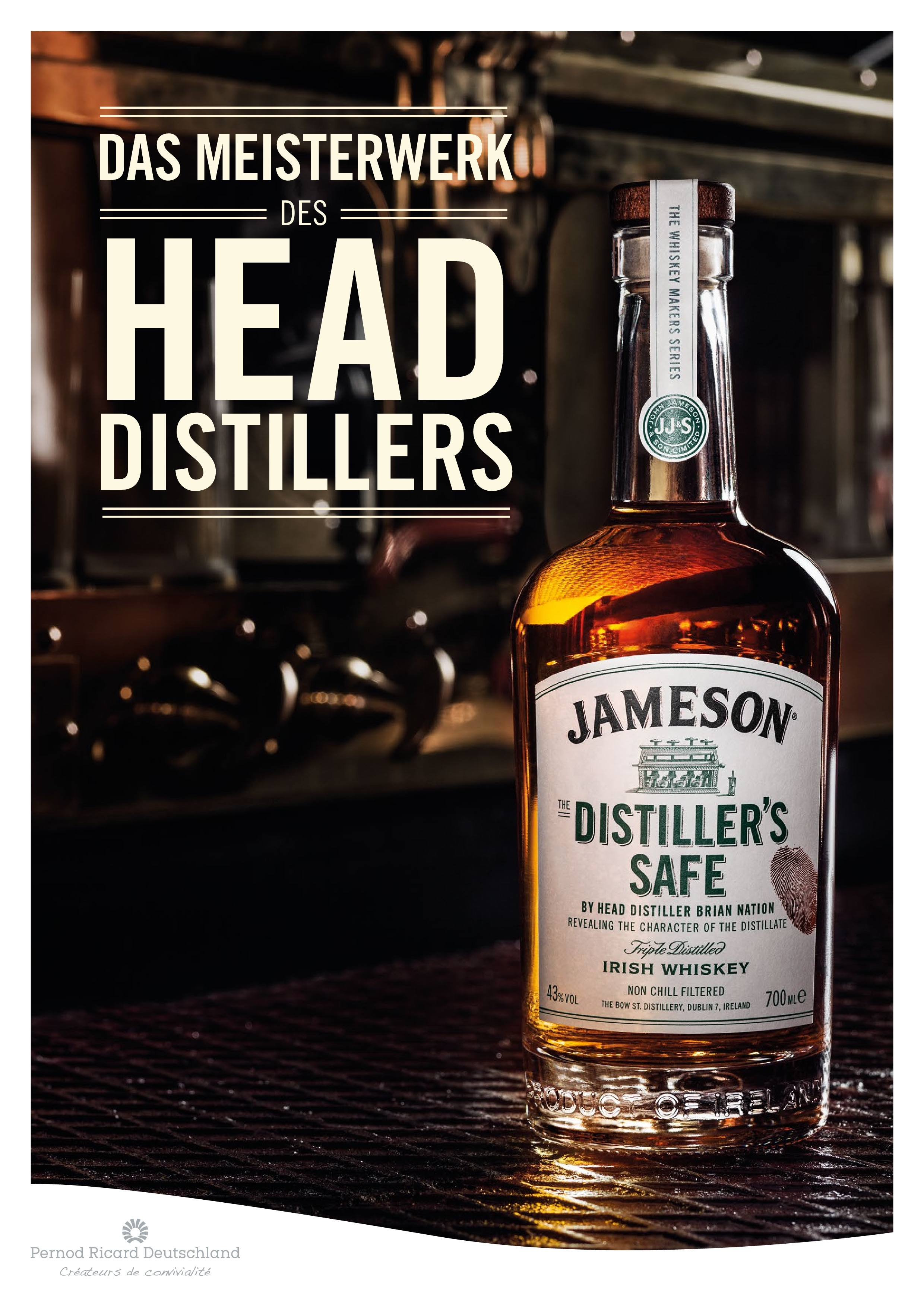 Jameson The Distillers Safe Whiskey