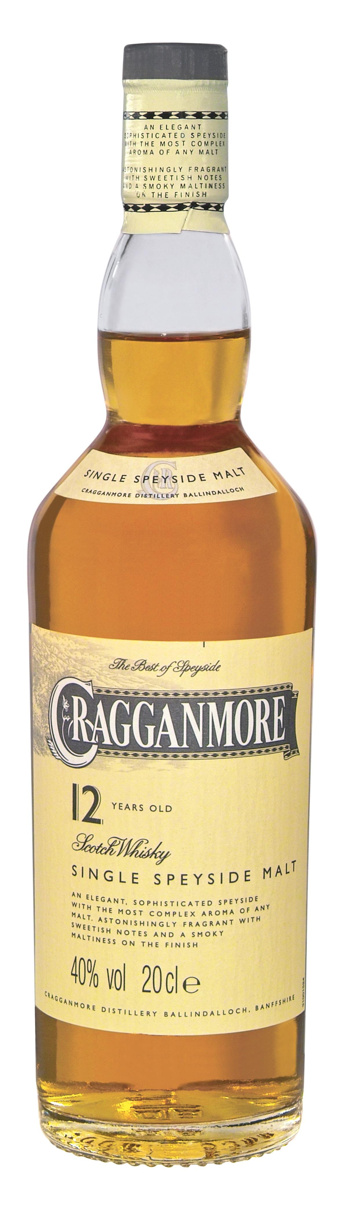 Cragganmore 12 Jahre Whisky Kleinflasche