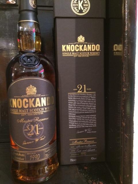 Knockando 21 Jahre Master Reserve Whisky