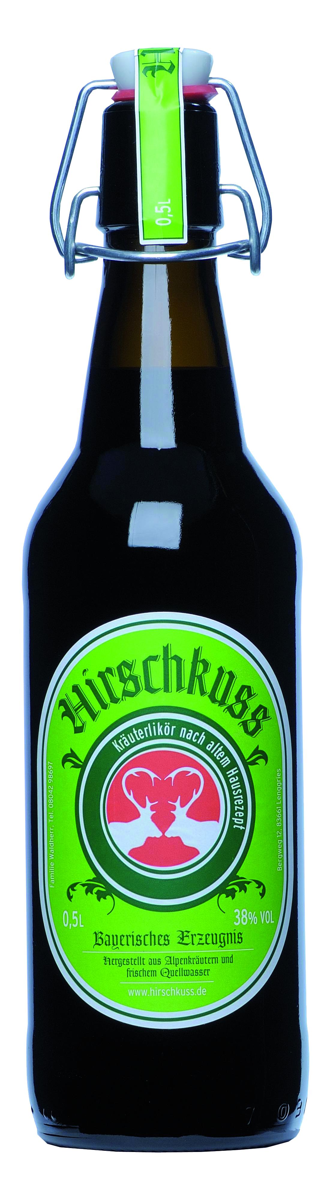 Hirschkuss Kräuterlikör