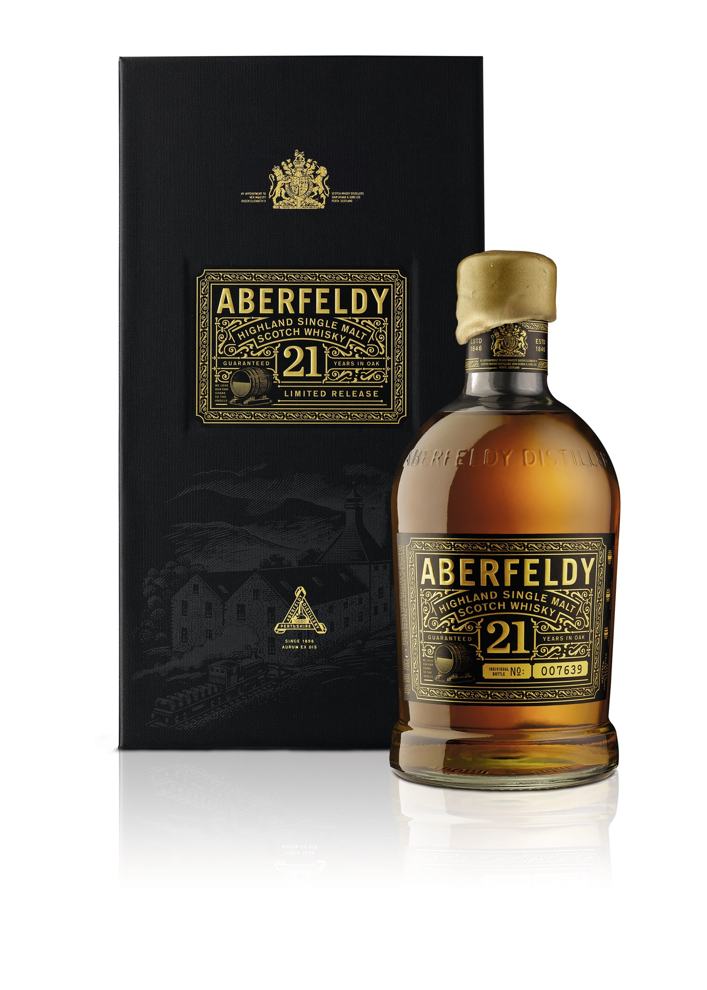 Aberfeldy 21 Jahre Single Malt Whisky