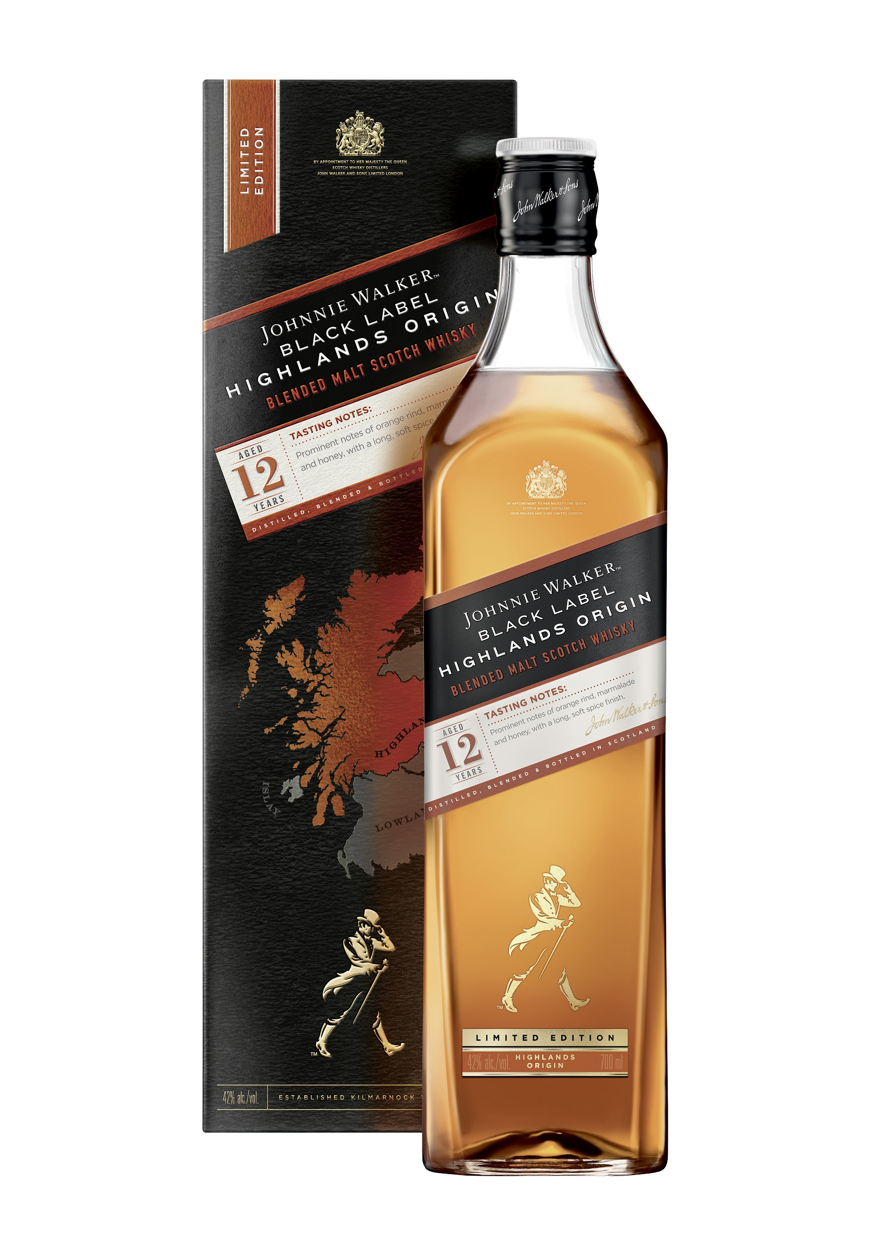 Johnnie Walker Black Label Highlands Origin Whisky