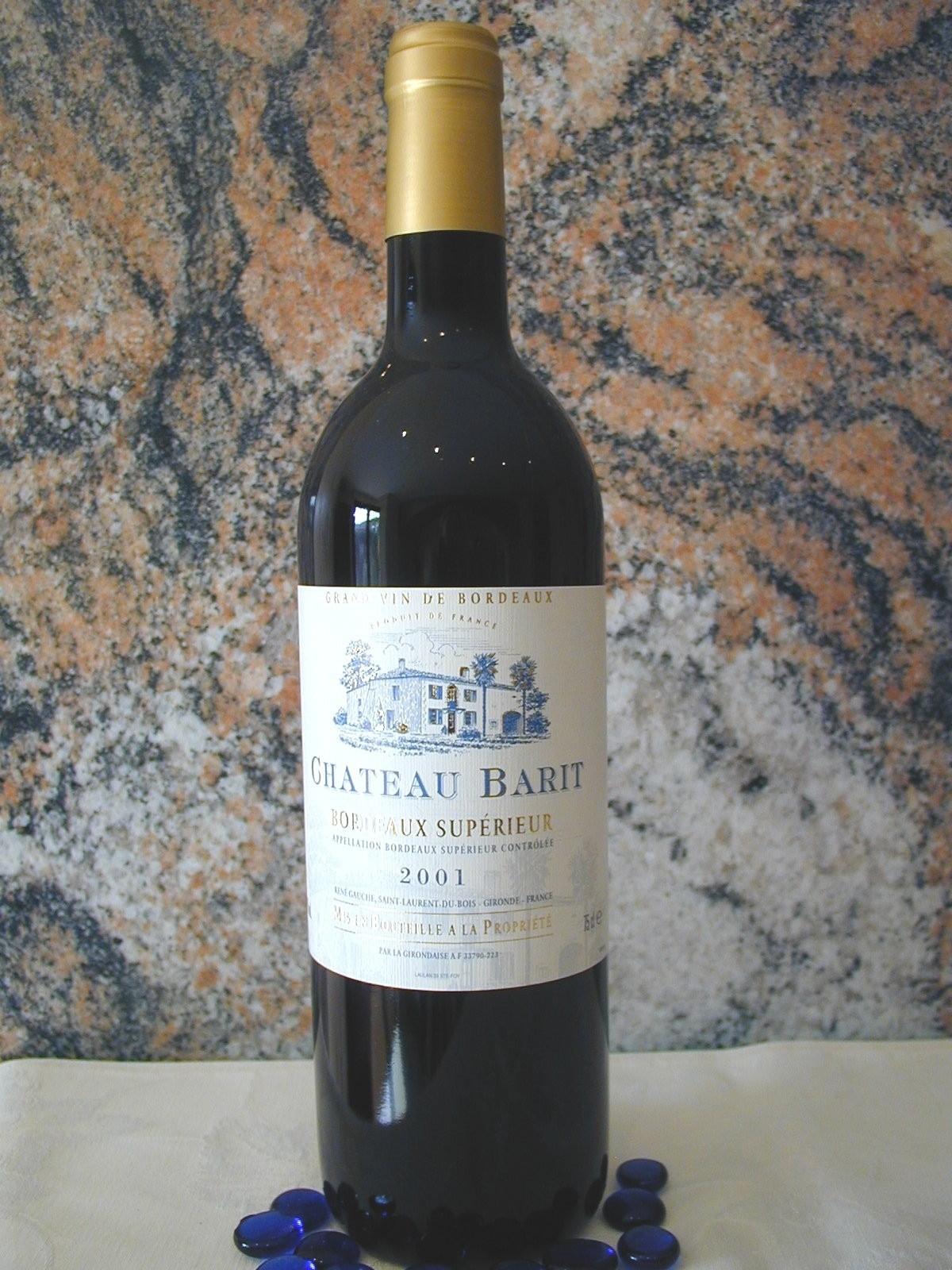 Chateau Barit Bordeaux Superieur AOC