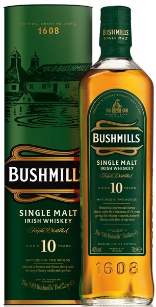 Bushmills 10 Jahre Whiskey