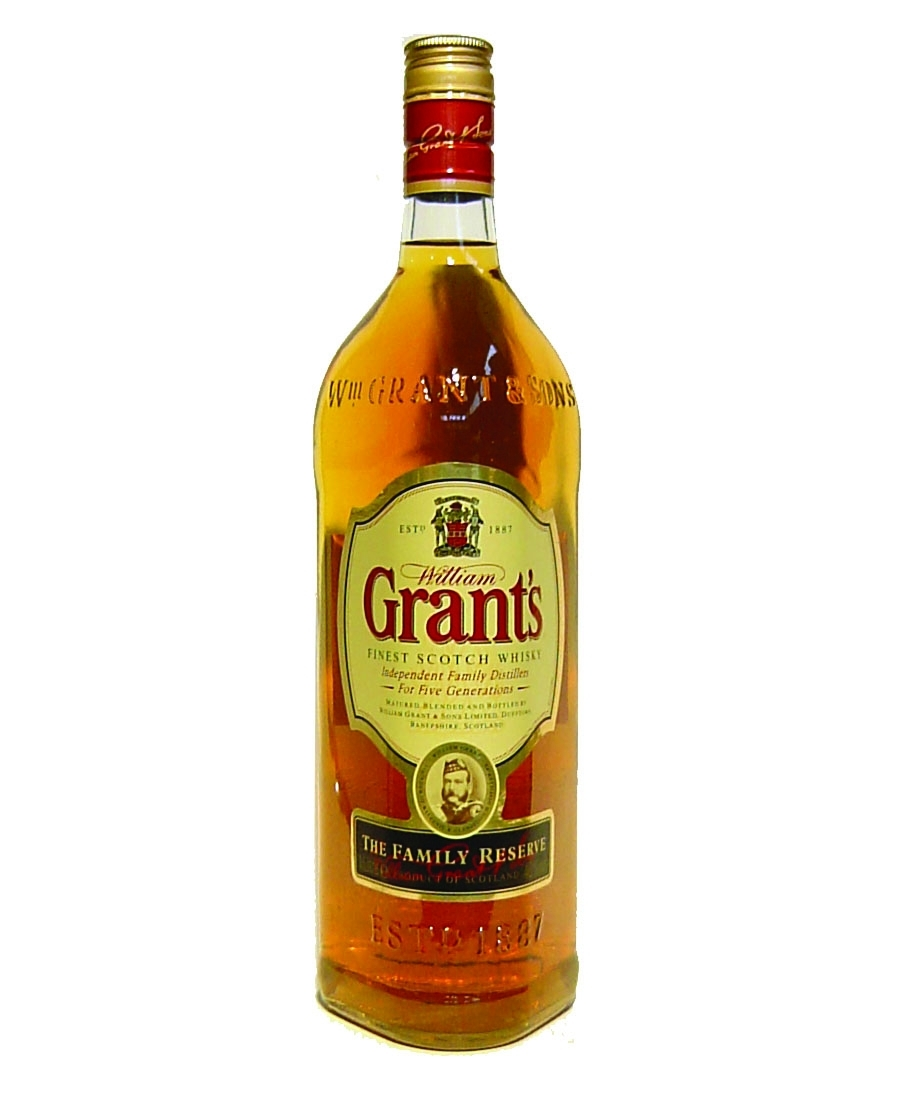 Grants Family Reserve Whisky