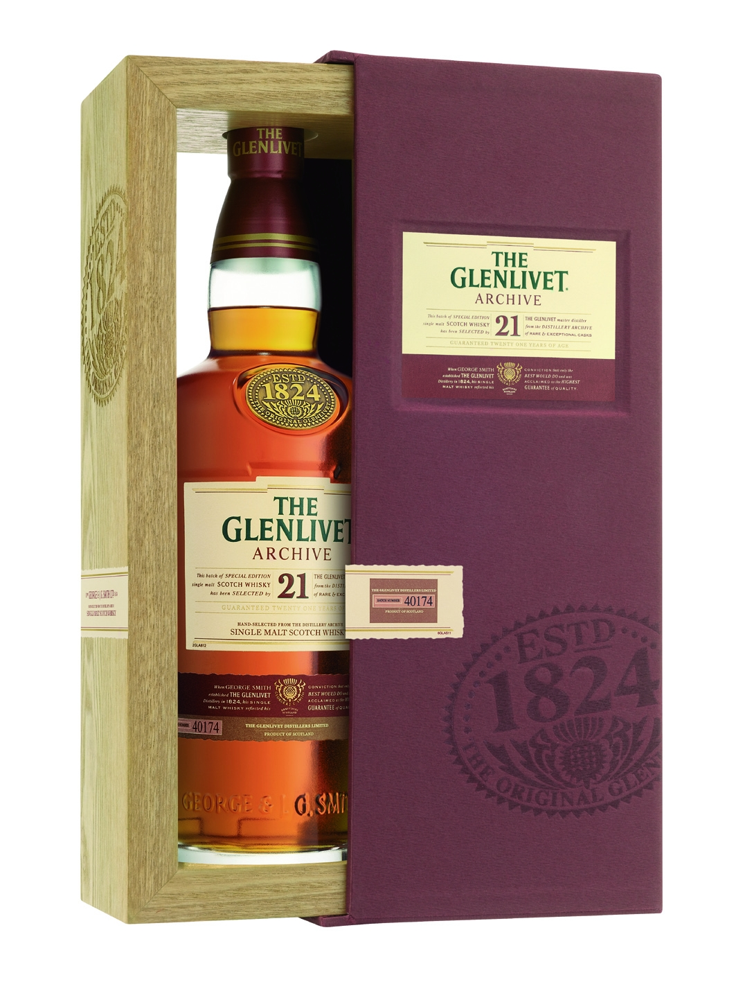 Glenlivet 21 Jahre Archive Single Malt Whisky