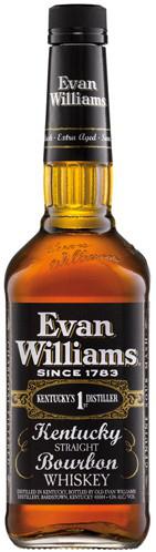 Evan Williams Black Whiskey