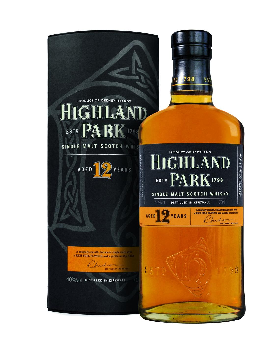 Highland Park 12 Jahre Single Malt Whisky