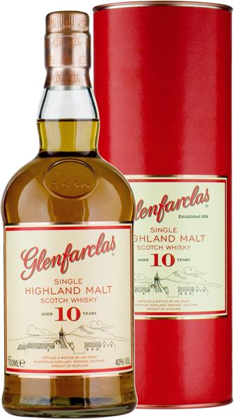 Glenfarclas 10 Jahre Single Malt Whisky