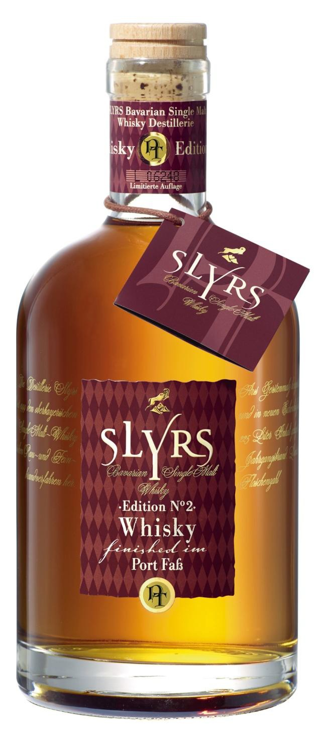 Slyrs Whisky Port Fass Edition