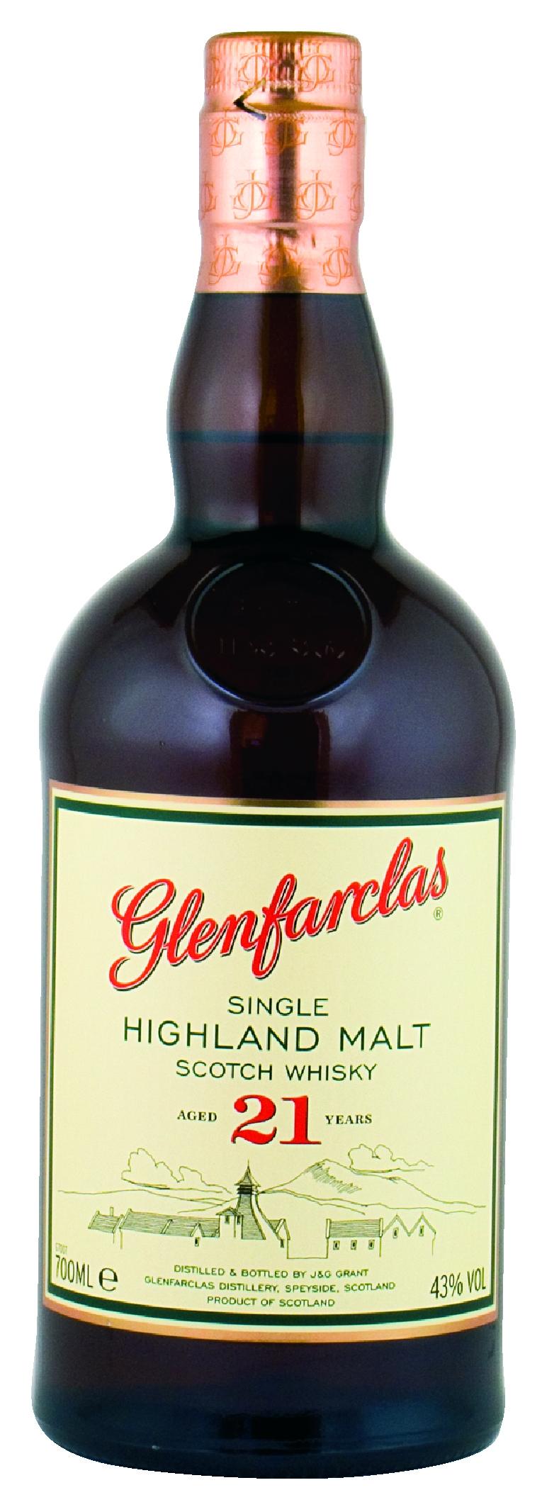 Glenfarclas 21 Jahre Single Malt Whisky