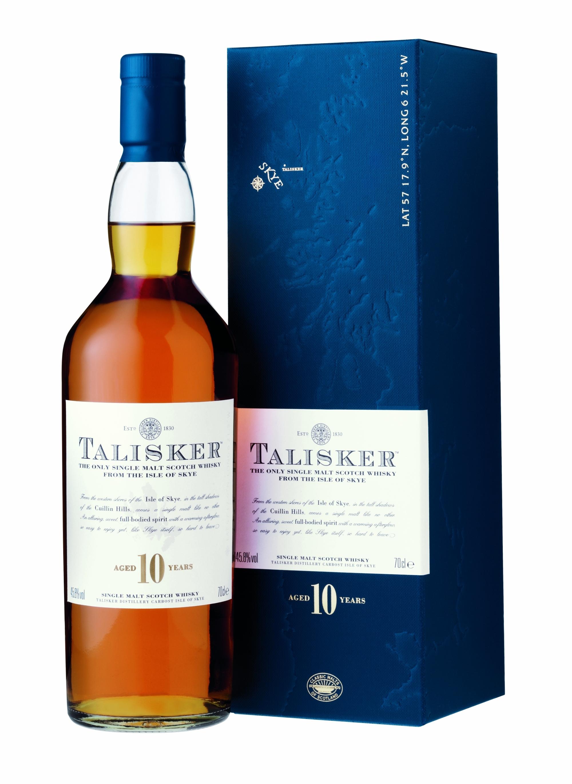 Talisker 10 Jahre Whisky Kleinflasche