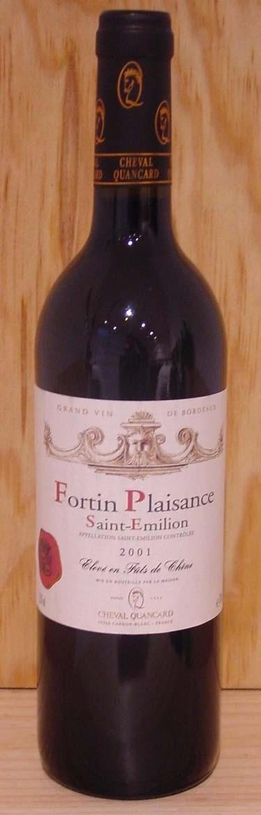 Fortin Plaisance Saint Emilion