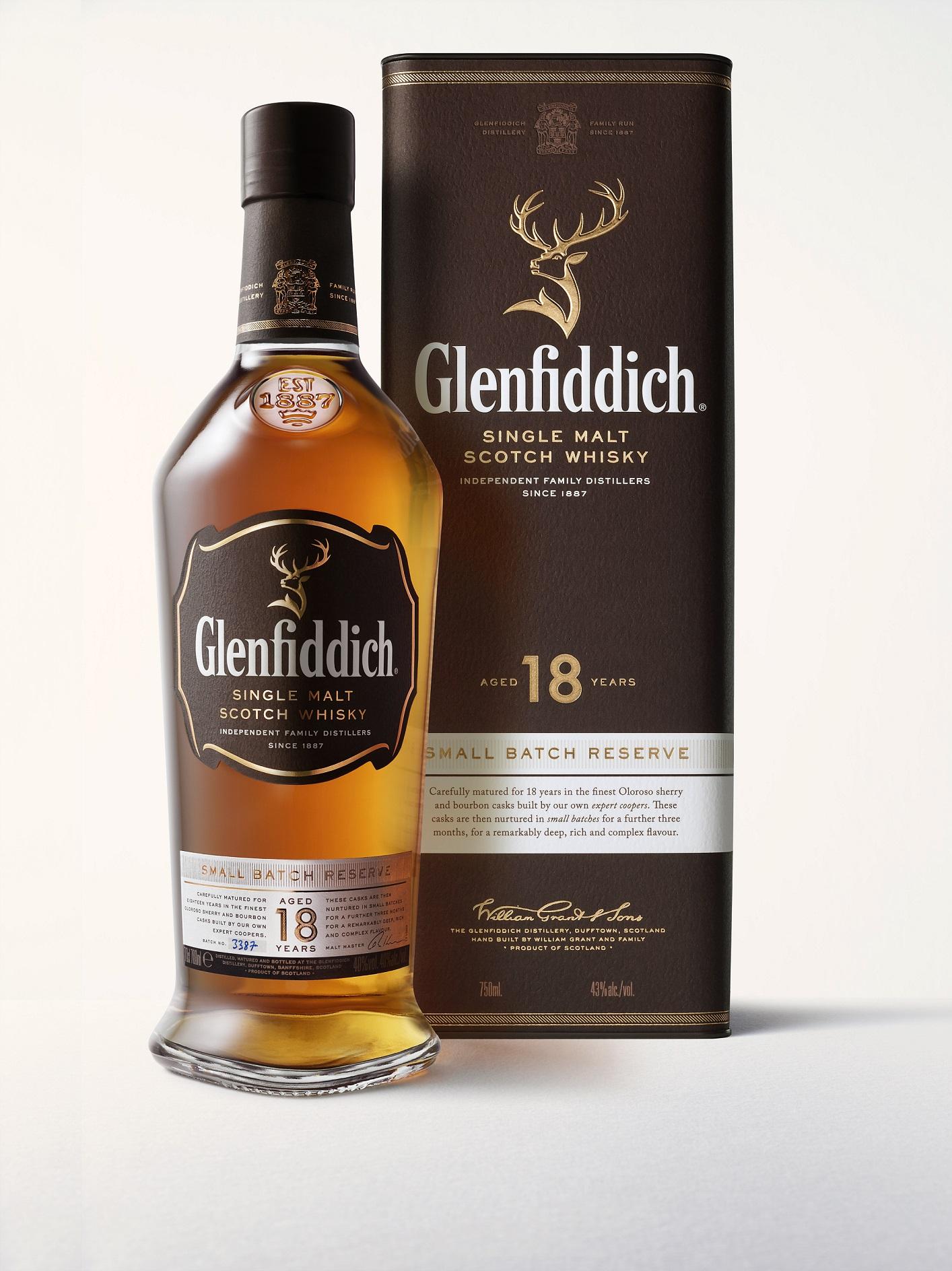 Glenfiddich 18 Jahre Small Batch Reserve Whisky