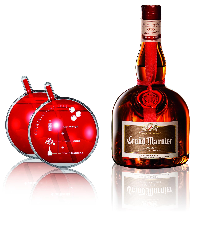 Grand Marnier mit 2 Grand O Bubbles