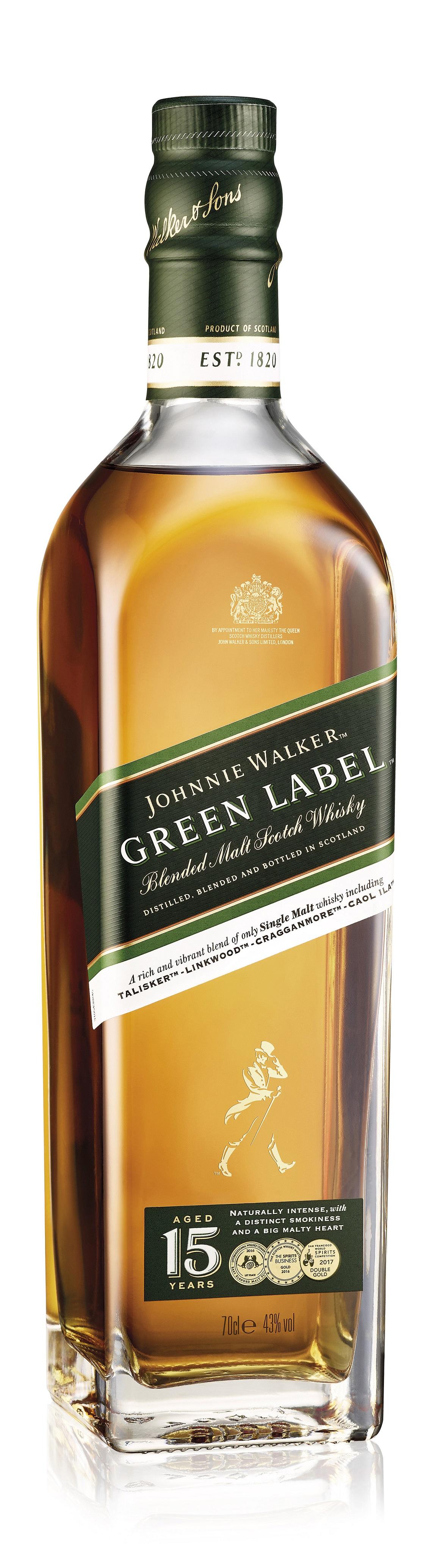 Johnnie Walker Green Label 15 Jahre Whisky