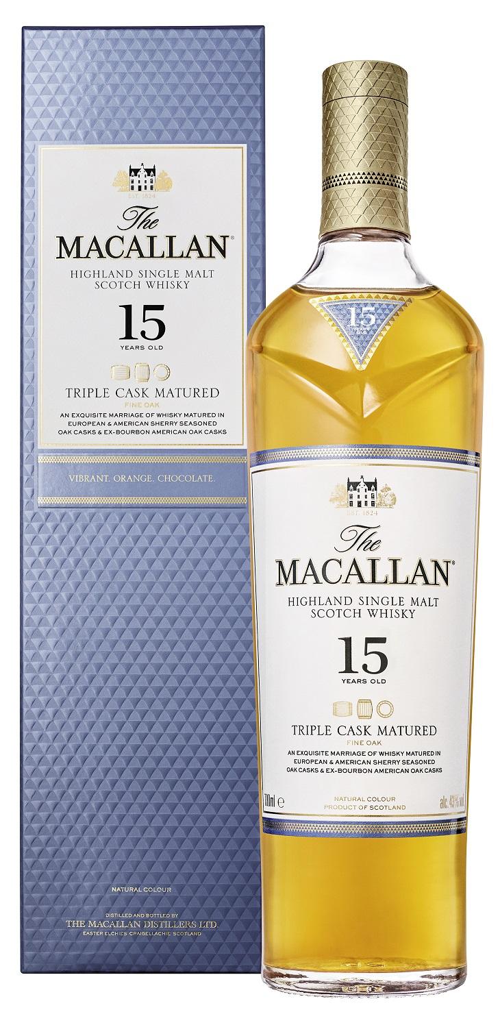 Macallan 15 Jahre Triple Cask Whisky