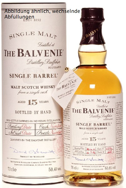 Balvenie 15 Jahre Single Barrel Whisky Sherry Cask