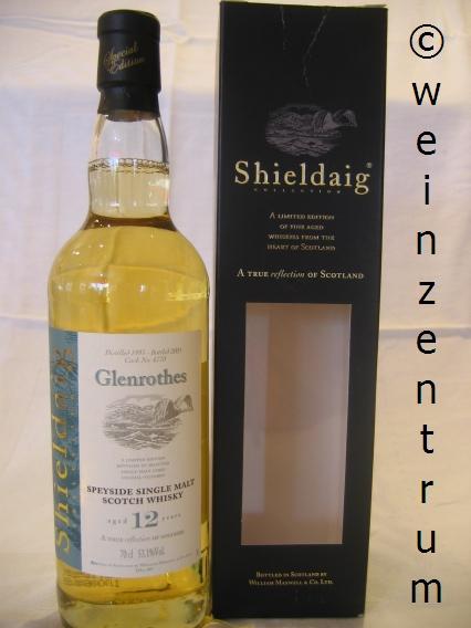 Glenrothes 12 Jahre Single Malt Whisky Shieldaig