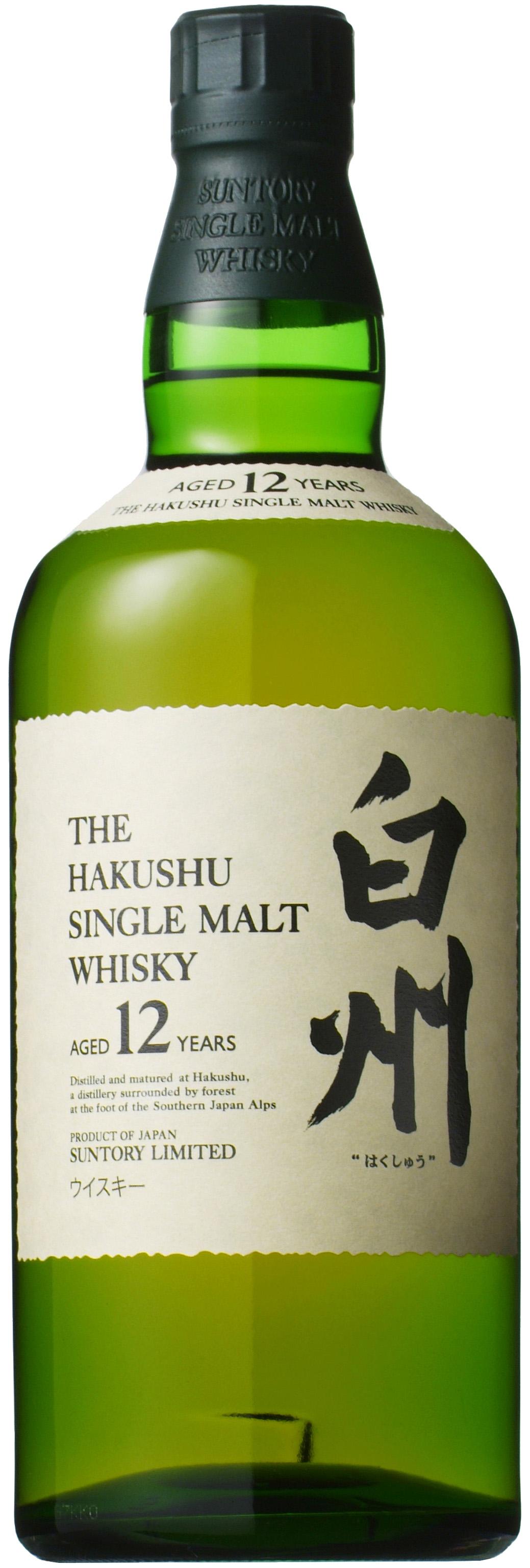 Suntory Hakushu 12 Jahre japanischer Whisky