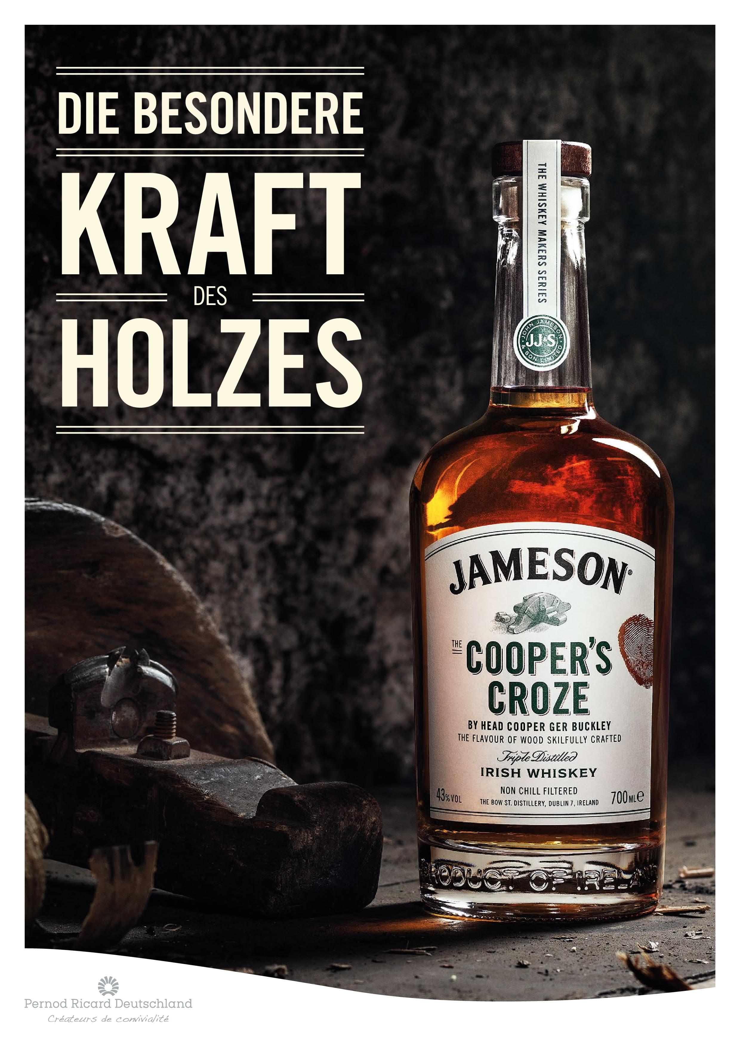 Jameson Coopers Croze Whiskey
