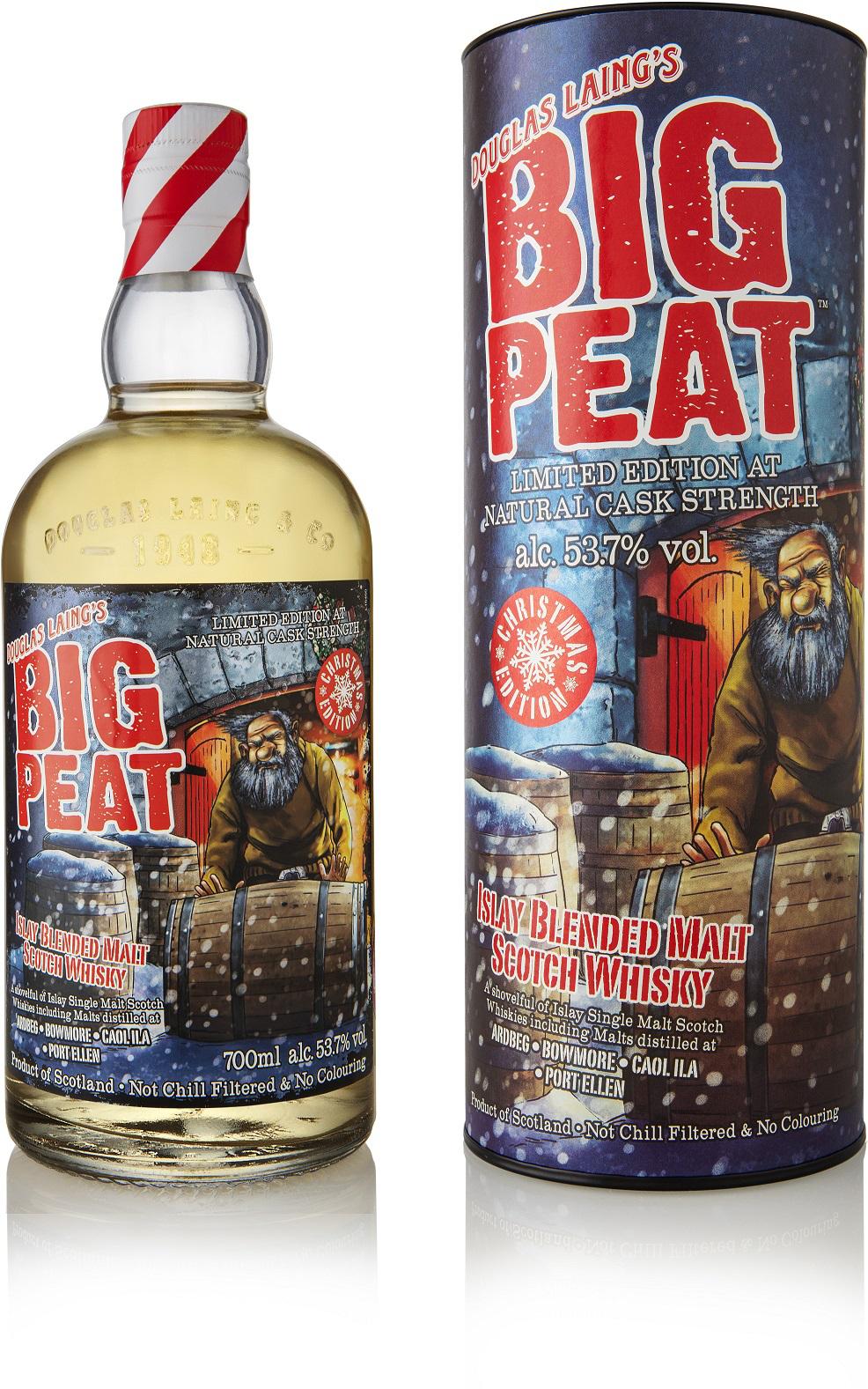 Big Peat Whisky Christmas Edition 2019