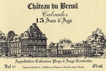 Calvados Chateau du Breuil 15 Jahre 350ml