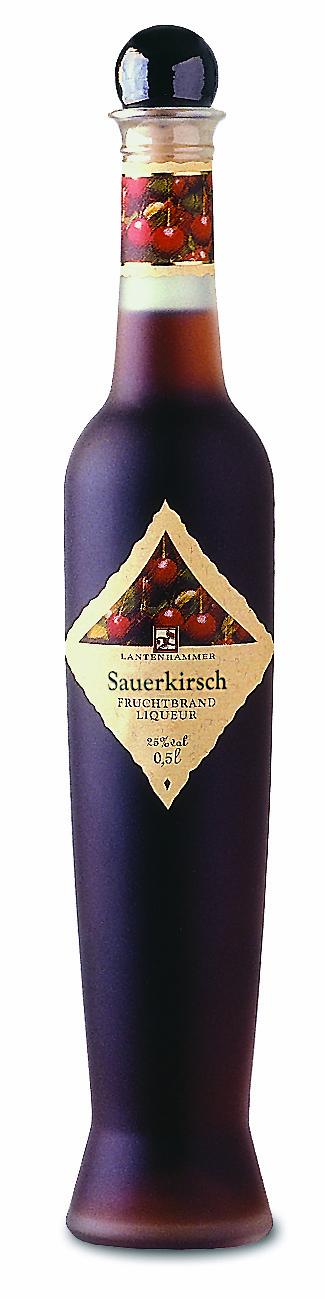 Sauerkirsch Fruchtbrandlikör Lantenhammer