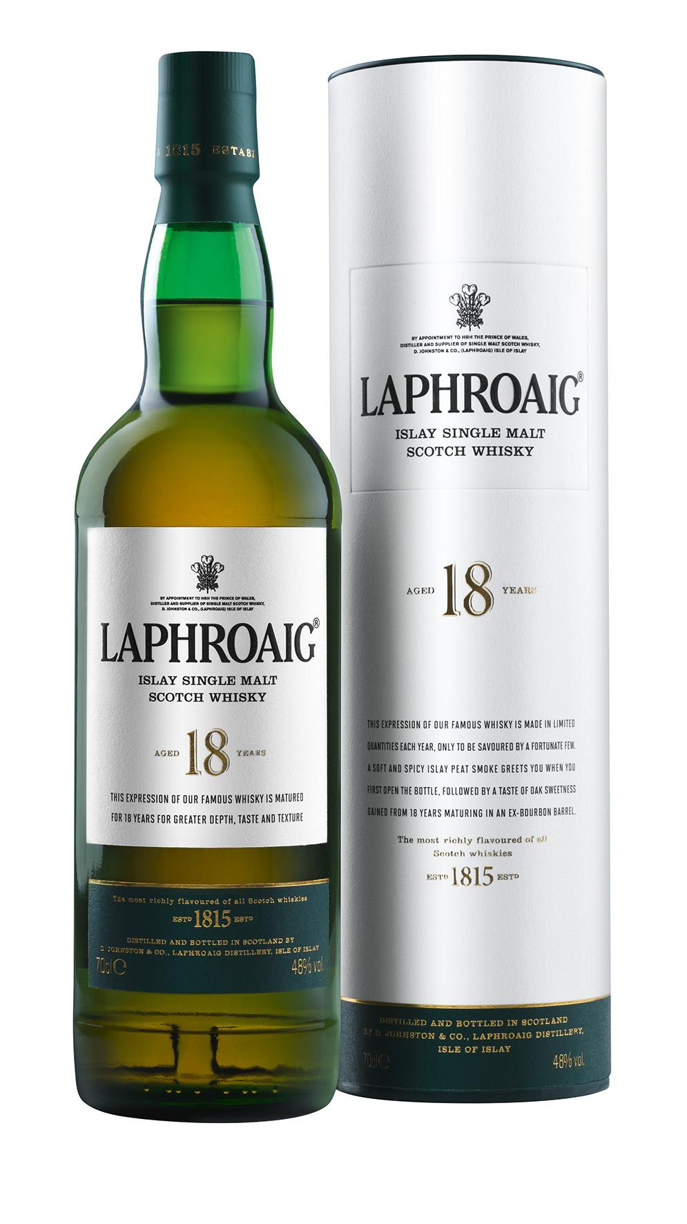 Laphroaig 18 Jahre Single Malt Whisky