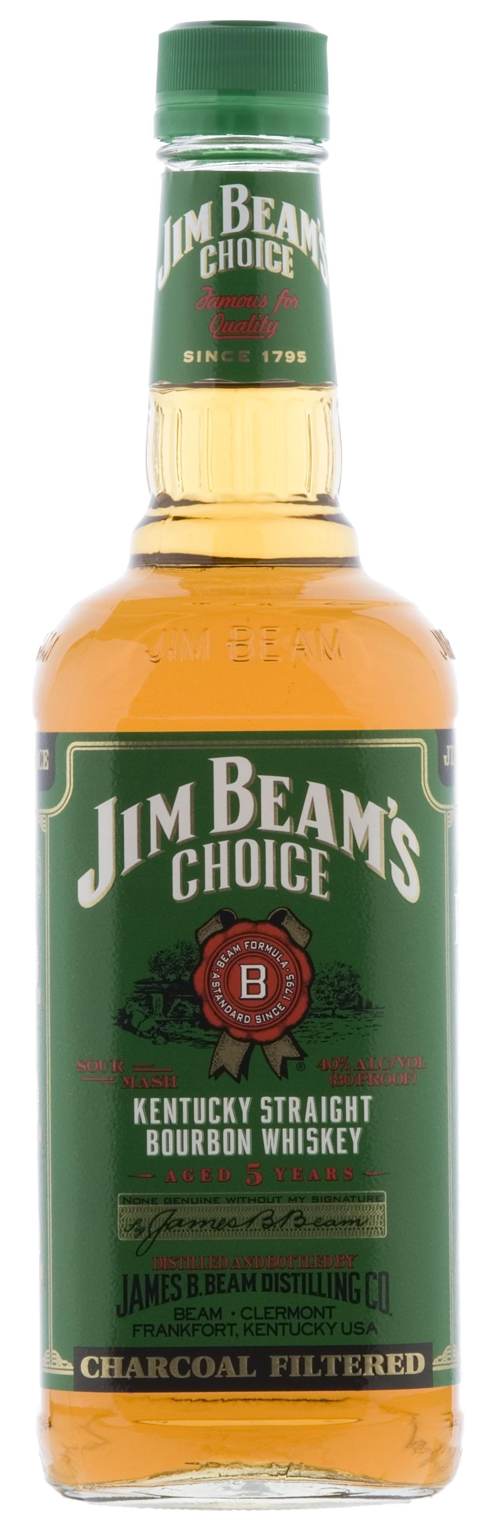 Jim Beam Choice Green Label Whiskey