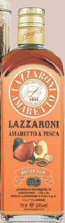 Amaretto Peach Lazzaroni