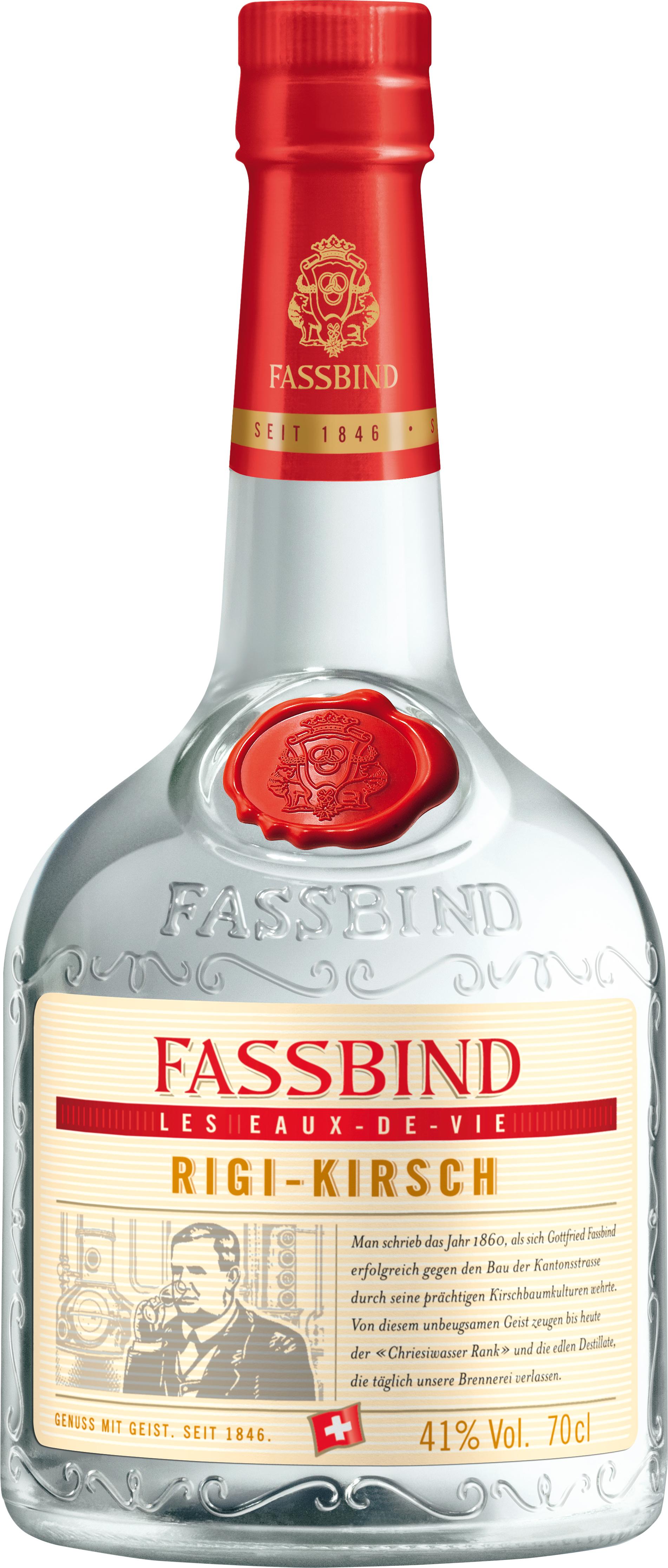 Fassbind Kirschbrand Selection Prestige