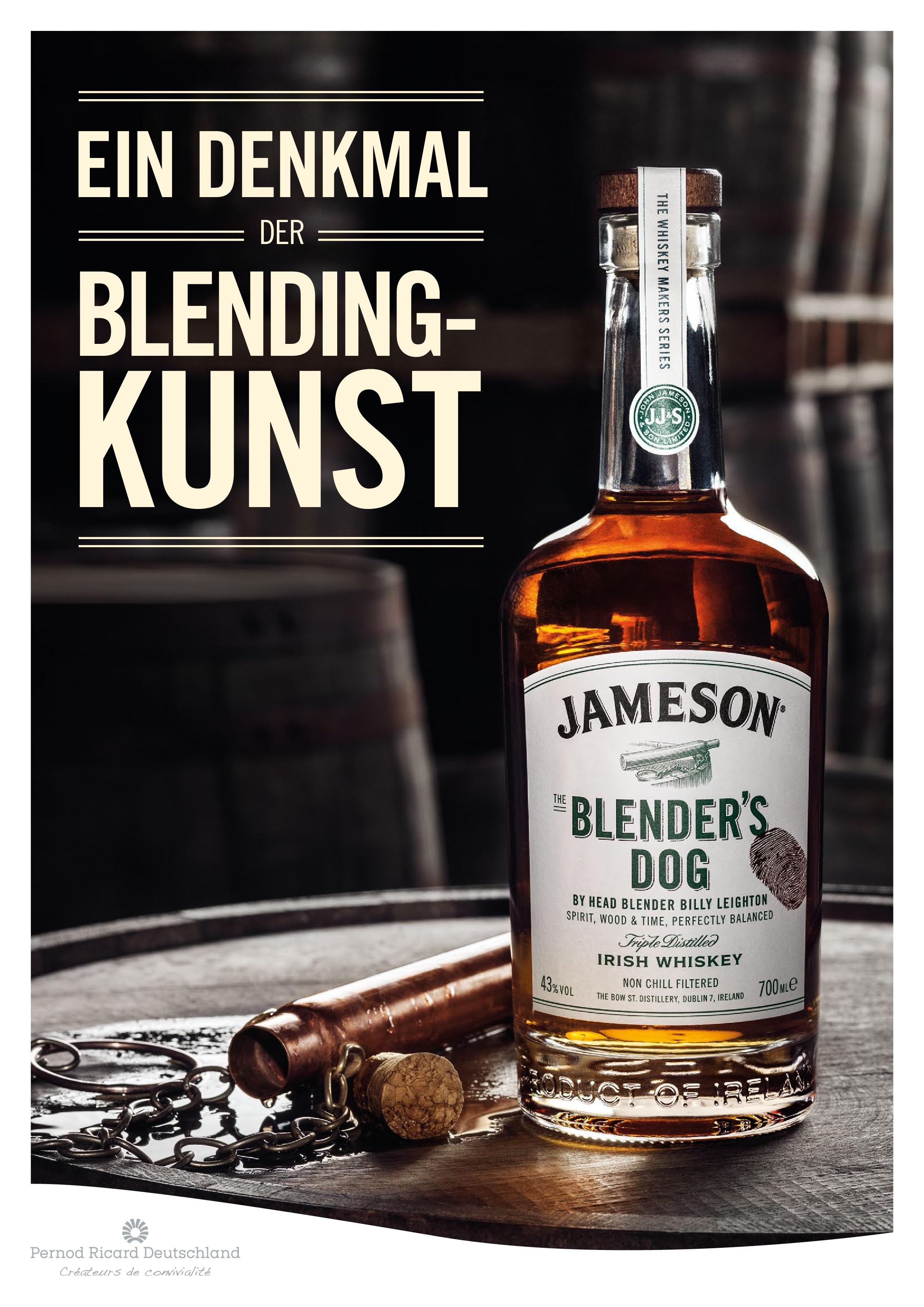 Jameson The Blenders Dog Whiskey
