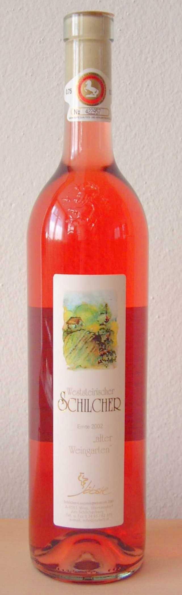 Schilcher Alter Weingarten Jöbstl