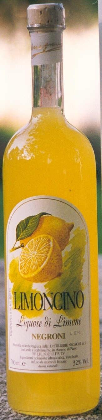 Negroni Limoncino Zitronenlikör