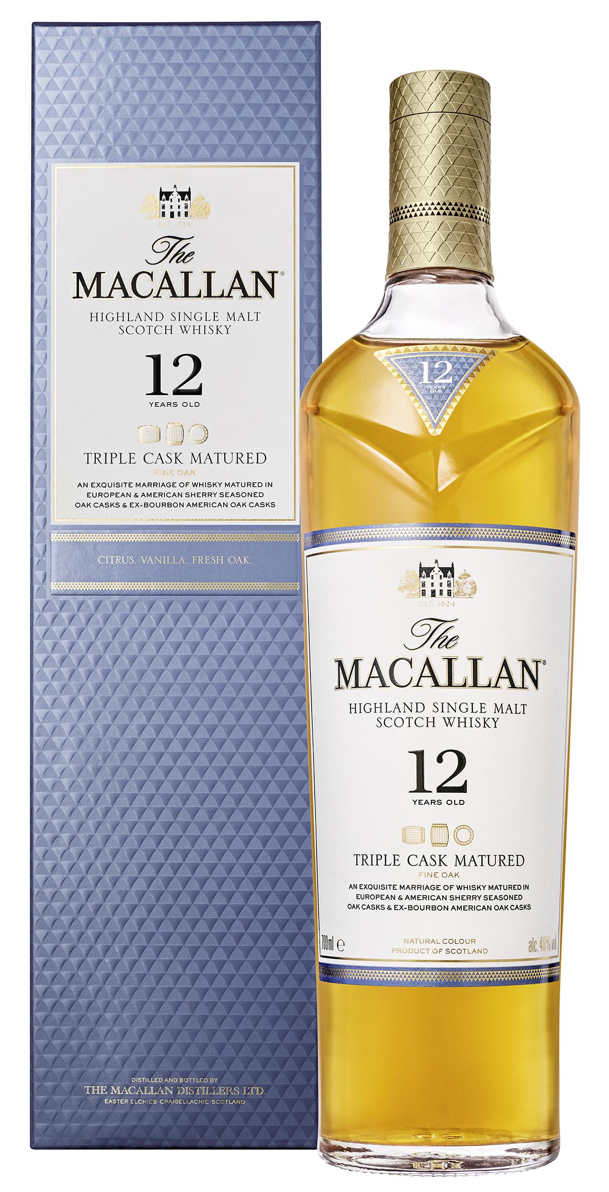 Macallan 12 Jahre Triple Cask Whisky