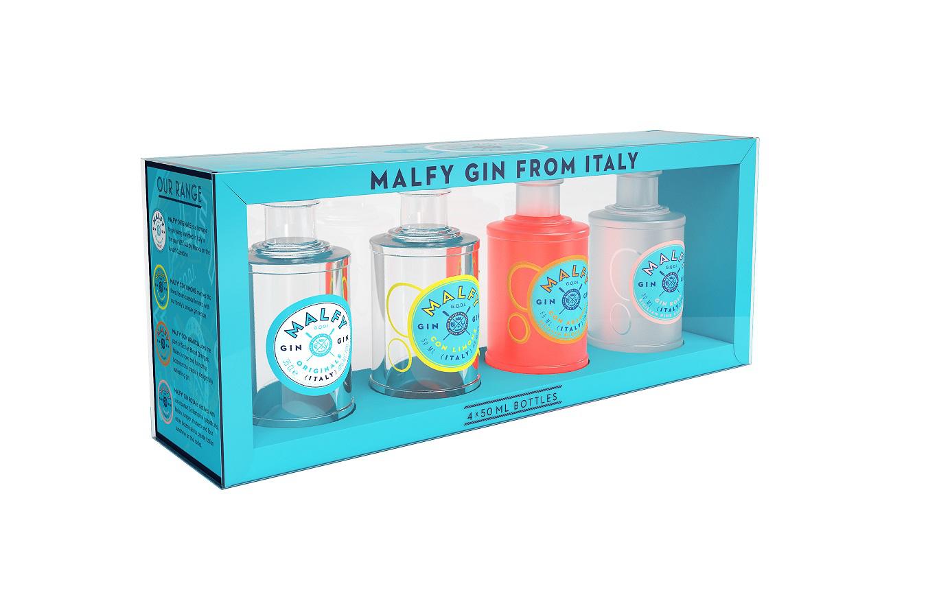 Malfy Gin Miniaturenset