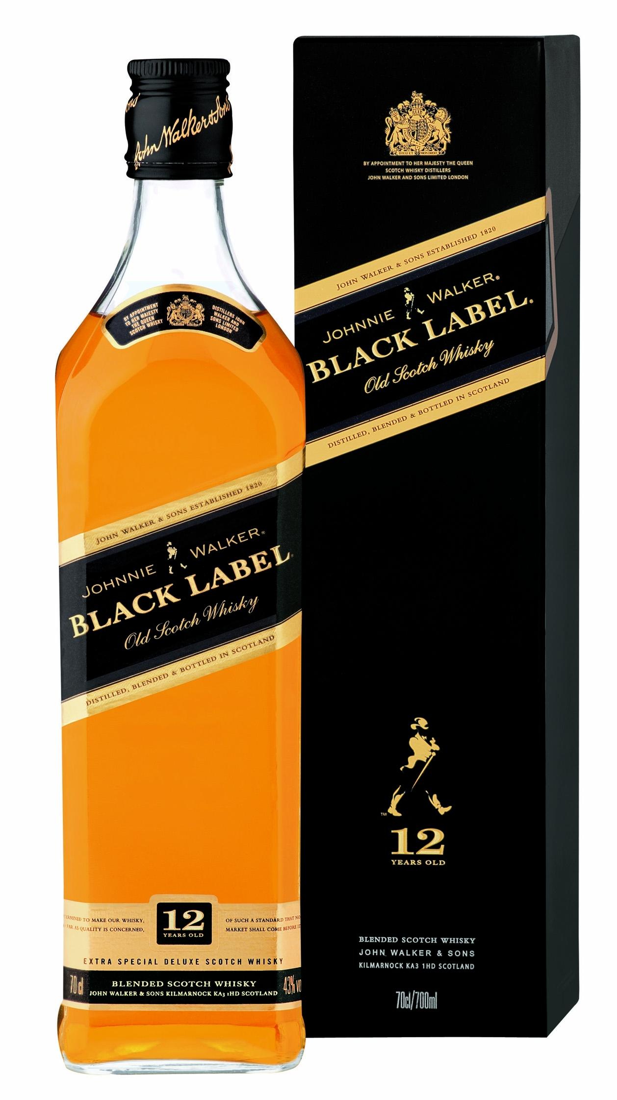 Johnnie Walker Black Label 12 Jahre Whisky