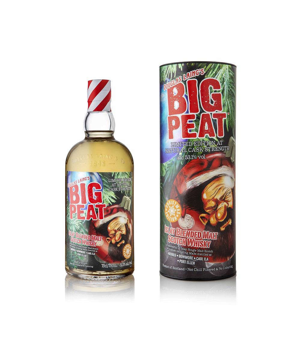 Big Peat Whisky Christmas Edition 2020