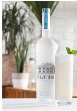 Belvedere Pure mit 2 Gläser