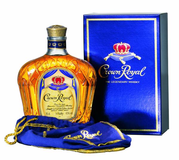 Seagrams Crown Royal Canadian Whiskey